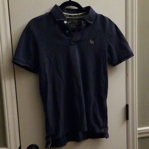 Distressed Abercrombie & Fitch Muscle Polo